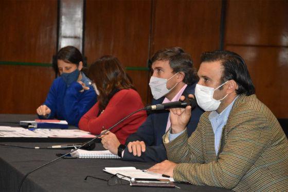 El COE se reunió con Diputados e informó la situación epidemiológica en Salta