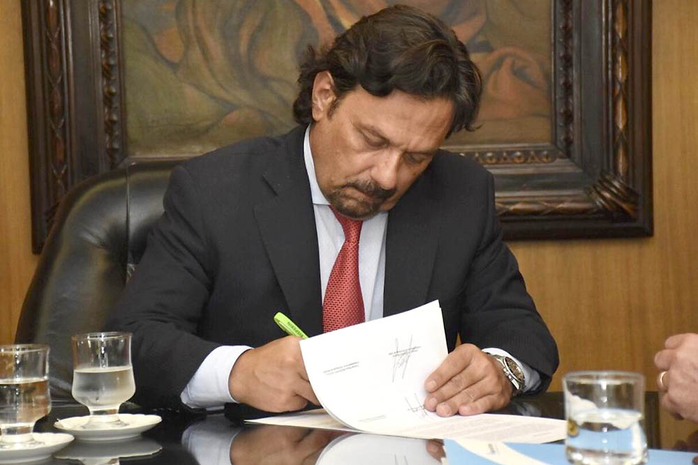 saenz firmando