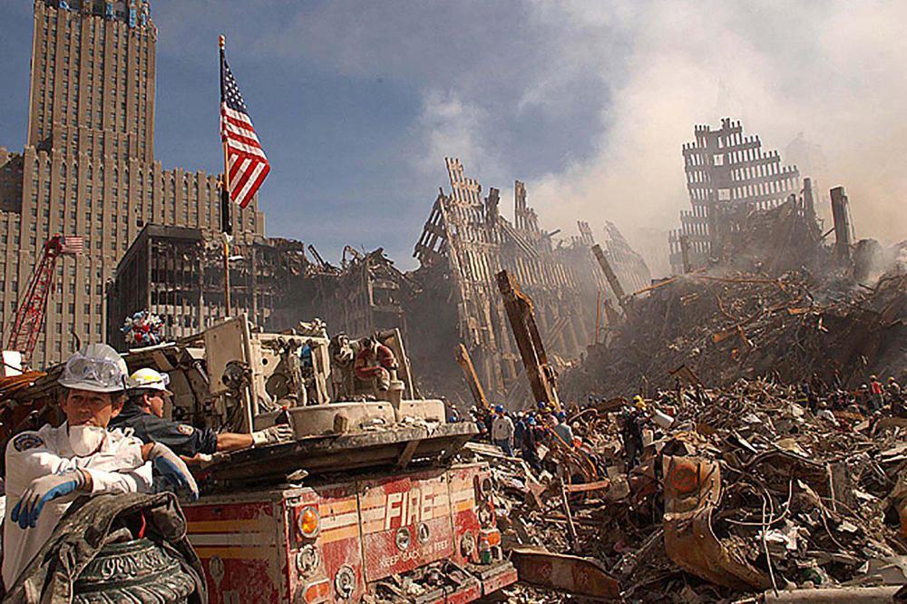 El servicio secreto de Estados Unidos publicó fotos inéditas del atentado terrorista del 11-S