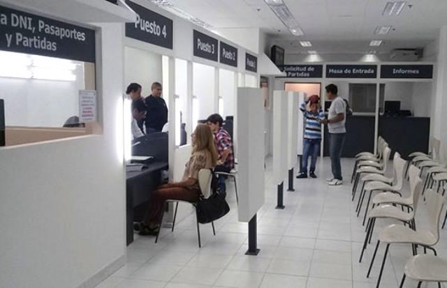 Reabrieron las oficinas del registro civil en el paseo salta for Oficina registro civil